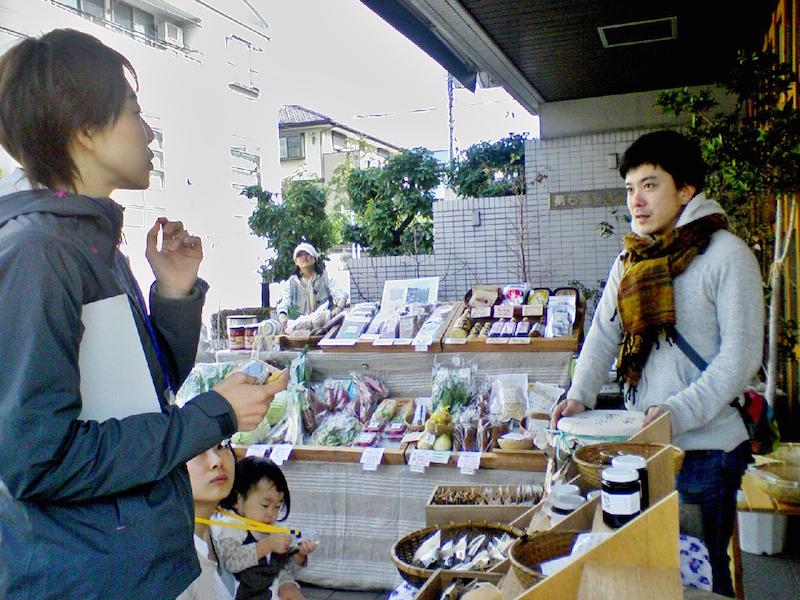 小川穣さん、自ら農業も手がけます