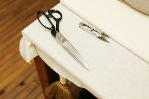 手入れが行き届いている裁縫道具