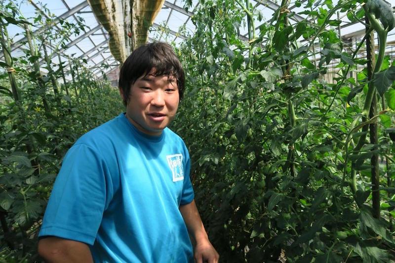 農業をはじめて6年目の横山勝太さん