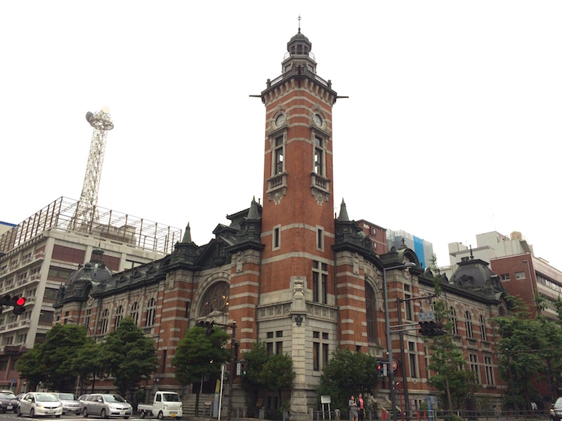 会場となる横浜市開港記念会館