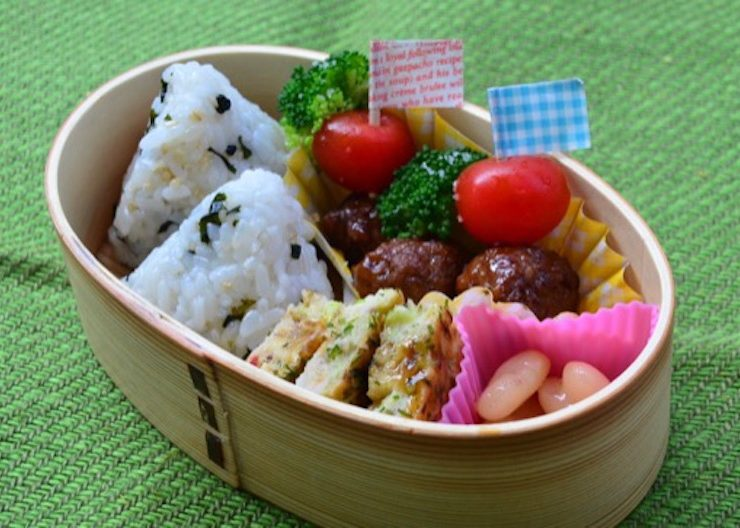 大西香織さんのお弁当。食の細い子でも食べきれるよう、さまざまな工夫と愛情がたっぷり