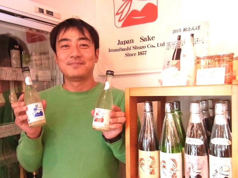 泉橋酒造の酒は、藤が丘と市が尾に店舗がある「酒のあさの」でも購入できる。橋場社長は「浅野さんは立派な酒屋だよ」と太鼓判!