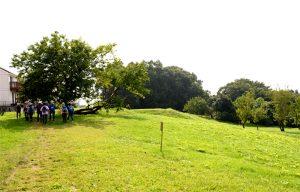 「成瀬の自然を守る会」がお世話をしている山吹緑地。ここから町田駅方面を見渡す景観は、「第一回町田景観大賞」を受賞したとのこと。町田市民でありながら、こんな素敵な緑地の存在を初めて知った