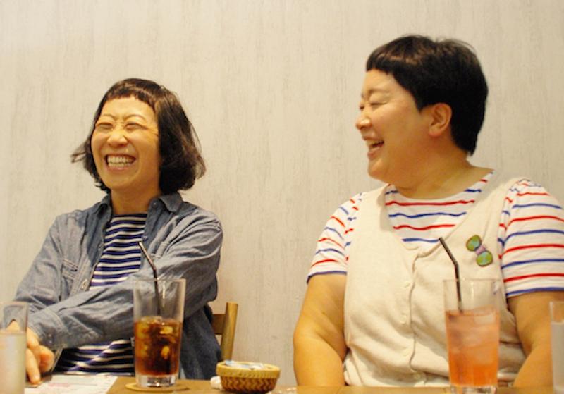 大きな声とジェスチャーで、おおらかに話をするポンちゃん(平田明子さん)。現在は長野県の安曇野エリアに在住、大自然のなかで双子のお子さんを育てている