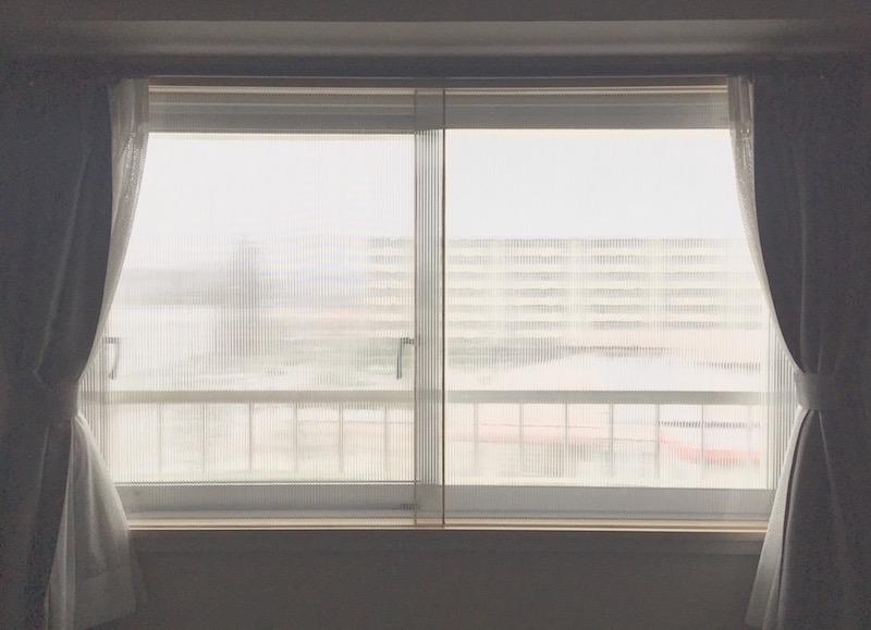 数カ月の期間を経てようやく完成! 窓全体の印象も引き締まった。
