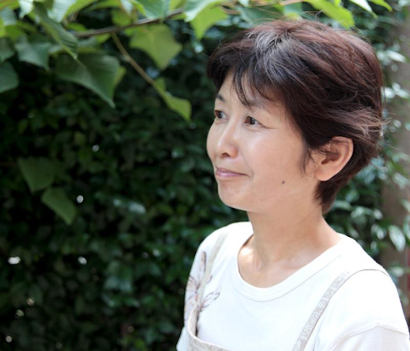 にいはるびじゅつ代表の沢田清美さん