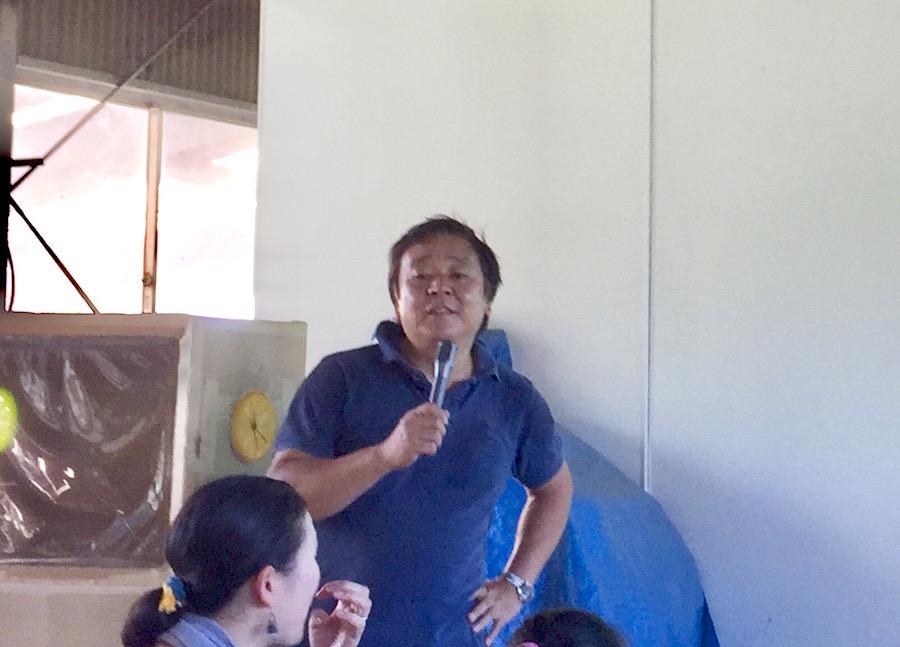 共同代表の一人、加藤久人さんは母の介護を機に地域を意識するようになった