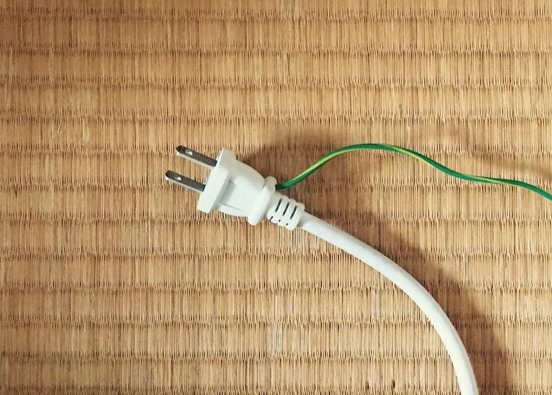 一般的な家電は100V