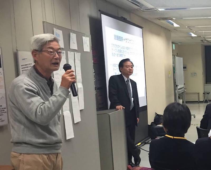 久保田さんが「活動で一番困るのが、定年退職後に企業の中にいた感覚のままでくる人。市民活動は早めにはじめるべき」と力説すると、会場から共感の声がもれた