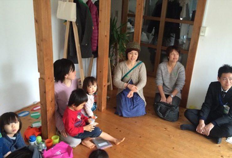 参加者の自己紹介からスタートした「みんなで話そう横浜での子育て」ワイワイ会議@森ノお茶会