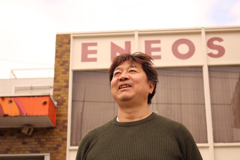 金子石油店代表取締役社長の金子拓也さん。リユース食器の貸し出しをするNPO法人Waveよこはまの代表を務めるなど、森ノオトとの関わりも深い